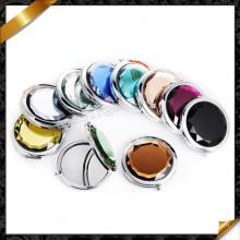 Miroir multicolore, petits miroirs cosmétiques, miroir inoxydable (MW008)