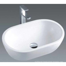 Luxury China Made Bathroom Ceramic Basin Sink (7100)