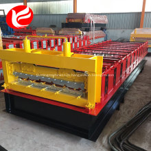 Standing seam color steel corrugated tile roofing sheet roll forming machine