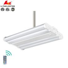 Hohes Lumen 130lm / w industrielles IP54, das 100w 140w 200w 240w 300w LED hohes Bucht-Licht mit dem Dimmen von 1-10v und Bewegungssensor unterbringt