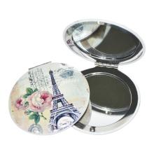 Made in China Paris Souvenir Metal Pocket Mirror