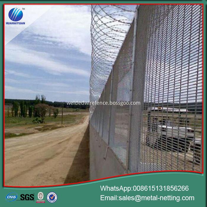 Anti-climb Welded Fence