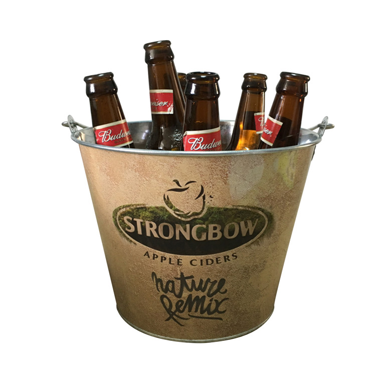 Custom Printed Metal Bucket