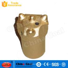 Carboneto de tungstênio 32 da cabeça da broca de rocha, bocados de broca afilados do botão do Hard Rock de 34,36, 38 milímetros