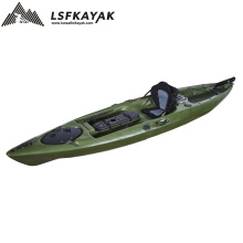 LSF Single Seat One Person 13FT Fishing Sit On Top Canoe LLDPE Plastic Kayak