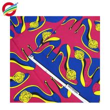 Véritable polyester véritable wax africain imprime la vente de tissu tissé