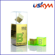 Gold Buckycube Magnetic Toy (T-024)