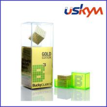 Ouro brinquedo magnético buckycube (t-024)