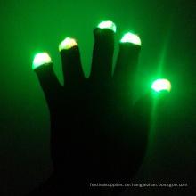 Rave führte Handschuhe