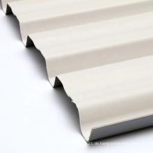 Baumaterial UV-beständige Dachplatte aus gewelltem Kunststoff