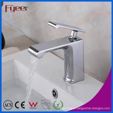 Fyeer 2016 New Brass Tap Mixer Bathroom Waterfall Basin Faucet