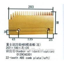 Kammplatte für Rolltreppenteile