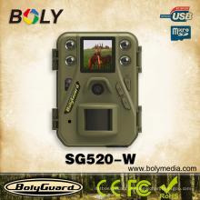 Menor wi-fi de visão noturna caça jogo câmeras SG520-W com 12Megapixel 720 P HD vídeo 85 pés faixa de detecção