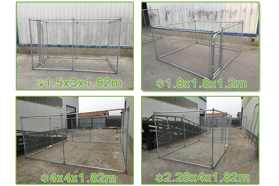 large breed dog kennel cage