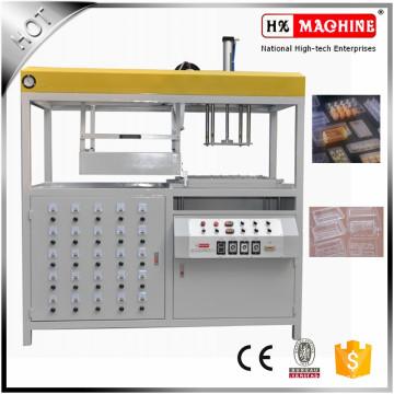Halbautomatisches Plastiksandwich-Vakuum, das Maschine bildet