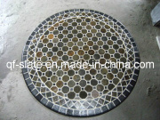 Handmade Stone Moasic Round Garden Tables and Chairs for Outdoor