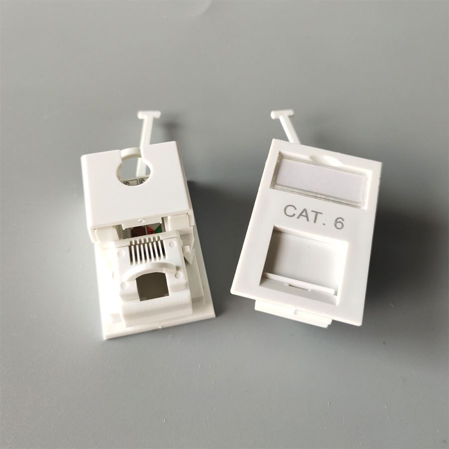 CAT6 Wall socket plate
