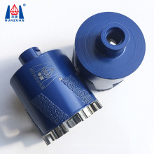 Hollow saw diamond core drill bits for countertop sink