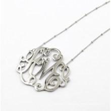 Silber Blumen Anhänger für Halskette Modeschmuck