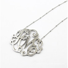 Silver Flower Pendant for Necklace Fashion Jewelry