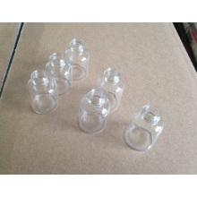 5ml vissé flacon en verre transparent Mini avec la qualité