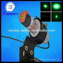 Módulo do laser do ponto verde de 532nm, 1mw, 5mw, 10mw, 20mw, 50mw, 100mw, 200mw