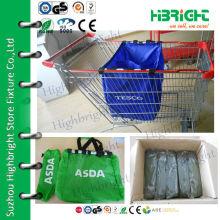 Light & Foldable Supermarket Cart Shopping Bag