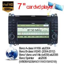 Car GPS pour Benz a / B Class Auto DVD GPS (2005 en avant) avec DVB-T MPEG4 ou ISDB-T ou ATSC-Mh (HL-8822GB) Lecteur DVD