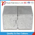 Panneaux sandwich verts de ciment de polystyrène expansé de séparation préfabriquée légère de préfabriqué
