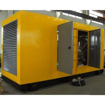 500kw Super Quiet Silent Gas Soundproof Generator Set