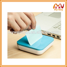 Mini almofadas de notas de caixa colorida mini personalizadas, nota adesiva para escritório