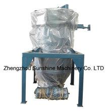 Máquina de filtro de óleo de cozinha com filtro de folhas vertical