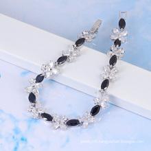 Xuping Jewelry Luxury Synthetic Cubic Zirconia Bracelet