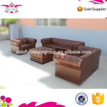 Canapé de salon Qingdao Sinofur Big Seller Chesterfield Sofa