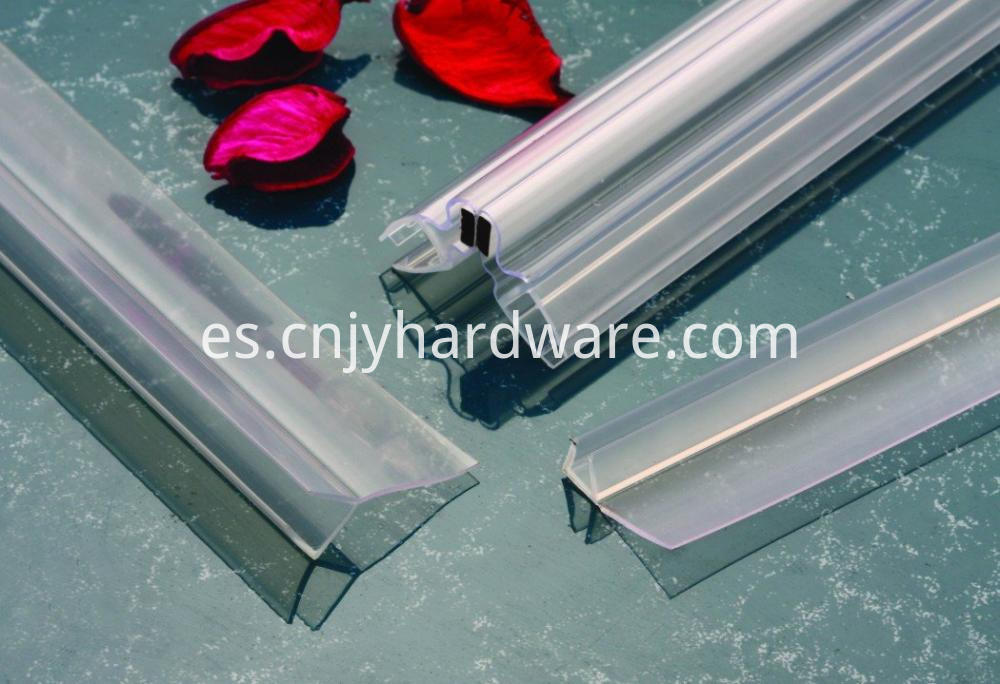 135 Degree Quality PVC material glass shower door seal
