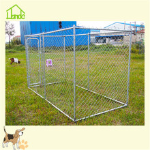 Outdoor friendly large metal dog kennels