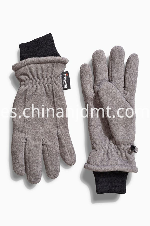 Boys Fleece Ski Gloves
