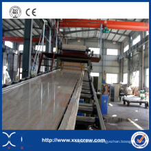 Máquina de fabricación de láminas de mármol artificial de PVC