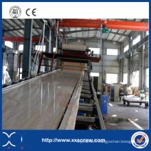 Machine de fabrication de feuille de marbre artificielle de PVC