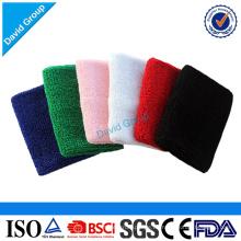 Alibaba Top Supplier Werbe Großhandel benutzerdefinierte Baumwolle Baby Schweißbänder