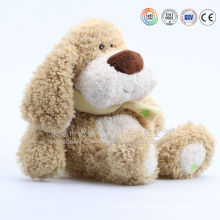 Large brown stuffed floppy dog stuffed animal