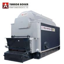 Vollautomatischer industrieller Warmwasserboiler mit Biomassebrennstoff
