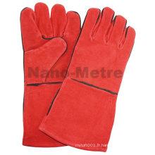 NMSAFETY gant de cuir extra-long