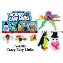 Divertido Crazy Easy Links DIY Juguete