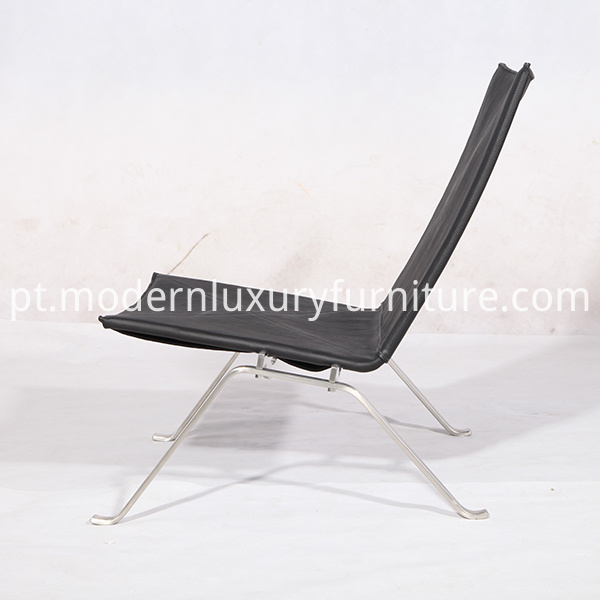 Leather Poul Kjarholm Pk22 Lounge Chair