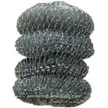 JML vende al por mayor el acoplamiento galvanizado del estropajo del alambre con buena calidad