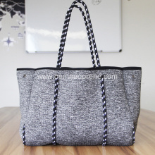 Versatile tote beach bags made of neoprene