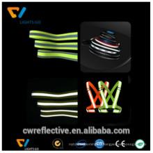высокая отражательная эластичная лента для Hi vis для безопасности ленты
