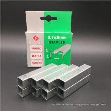 Grapas planas de acero métricas de 4 mm a 14 mm