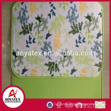 2018 popular floral impresso material de tijolo duplo propósito mesa lugar tapete para uso doméstico